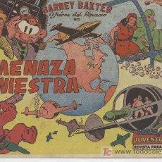 Tebeos: BARNEY BAXTER COMPLETA 1 AL 12 - ORIGINAL , VALENCIANA 1960 FRANK MILLER - , DIFICIL -. Lote 22107815