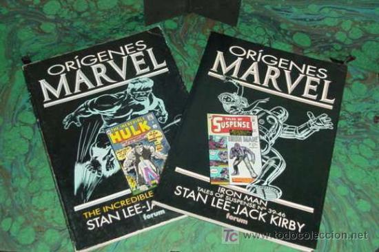 ORIGENES MARVEL (FORUM) ... IRON MAN / HULK (Tebeos y Comics - Tebeos Colecciones y Lotes Avanzados)