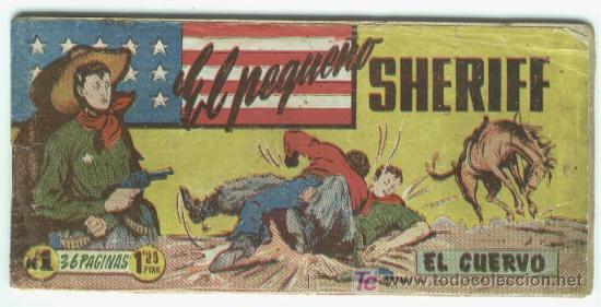 EL PEQUEÑO SHERIFF ORIGINAL - 270 NºS COMPLETA, BASTANTE , (Tebeos y Comics - Tebeos Colecciones y Lotes Avanzados)