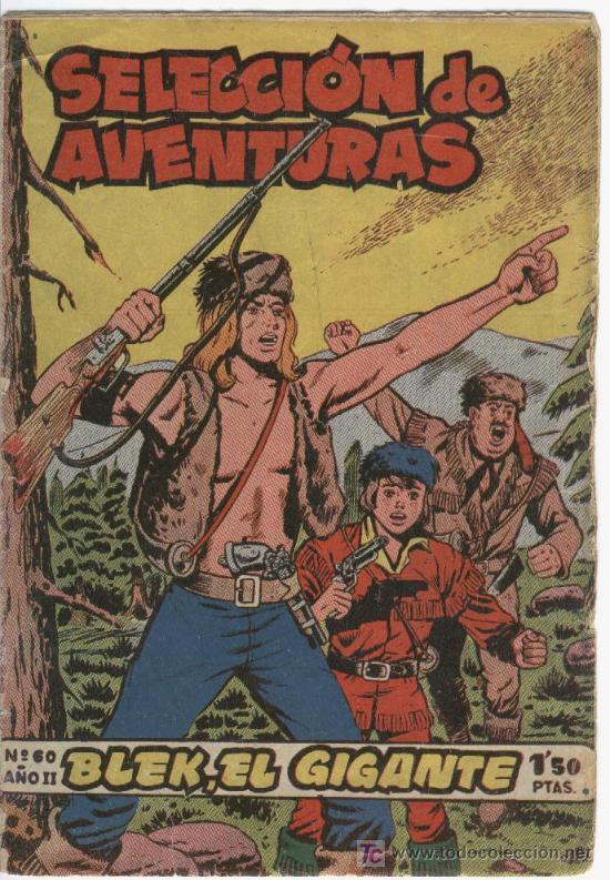 BLEK EL GIGANTE ORIGINAL 60 A 129 COMPLETA A FALTA DE 1 Nº EN MAGNIFICO ESTADO (Tebeos y Comics - Tebeos Colecciones y Lotes Avanzados)