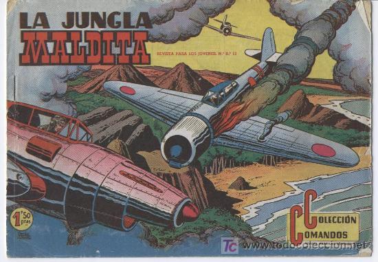 COLECCION COMANDOS ORIGINAL EDI. VALENCIANA 1954 - 1 A 72 COMPLETA DE LUJO, MUY NUEVOS, (Tebeos y Comics - Tebeos Colecciones y Lotes Avanzados)