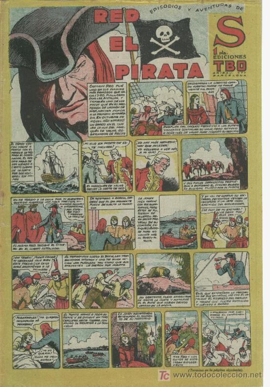 Tebeos: RED EL PIRATA - Foto 18 - 22574207