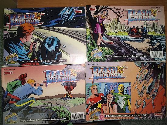 FLASH GORDON / EDICIÓN HISTÓRICA ¡¡ A FALTA DE 5 NÚMEROS !! / TEBEOS S.A. (Tebeos y Comics - Tebeos Colecciones y Lotes Avanzados)
