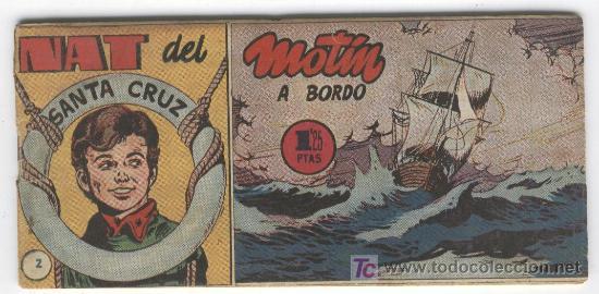 NAT DEL SANTA CRUZ 1951 ORIGINAL HISPANO AMERICANA, 57 NOS COMPLETA (Tebeos y Comics - Tebeos Colecciones y Lotes Avanzados)