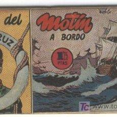 Tebeos: NAT DEL SANTA CRUZ 1951 ORIGINAL HISPANO AMERICANA, 57 NOS COMPLETA. Lote 22645584