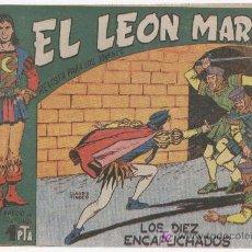 Tebeos: EL LEON MARINO 1961 ORIGINAL, COMPLETA 1 AL 24, 10 NºS SIN ABRIR, 1, ULTIMO Y 8 MAS, VER PORTADAS. Lote 22531790