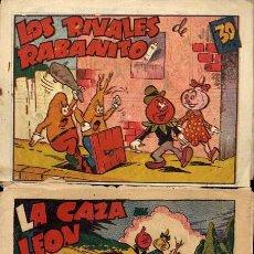 Tebeos: RABANITO Y CEBOLLETA, BIBLIOTECA INFANTIL, AÑOS 1940 , 30 CTS FOTOS, Nº SUELTO CONSULTAR ARCOS PAJA. Lote 12479661