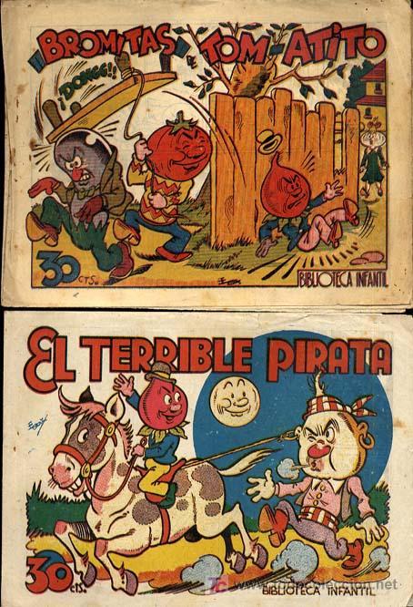 Tebeos: RABANITO Y CEBOLLETA, BIBLIOTECA INFANTIL, AÑOS 1940 , 30 CTS FOTOS, Nº SUELTO CONSULTAR ARCOS PAJA - Foto 5 - 12479661