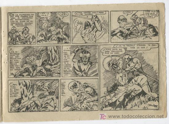 Tebeos: EL GUERRERO Nº 1 PAGINA - Foto 2 - 22645549