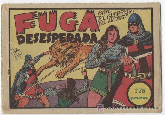 Tebeos: EL GUERRERO Nº 16 - Foto 8 - 22645549