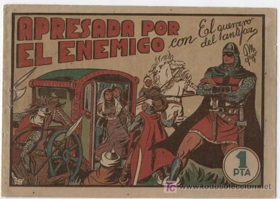 Tebeos: EL GUERRERO Nº 19 - Foto 10 - 22645549