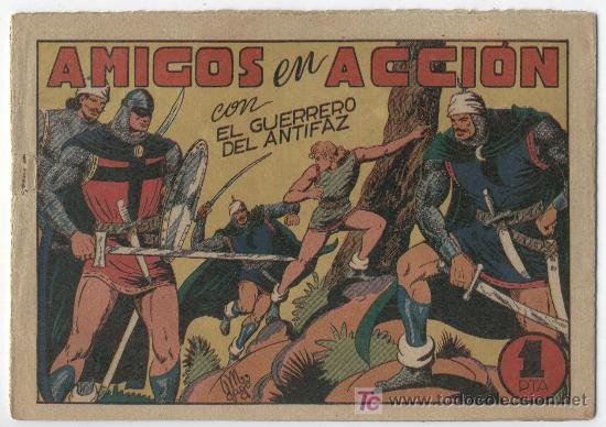 Tebeos: EL GUERRERO Nº 40 - Foto 13 - 22645549