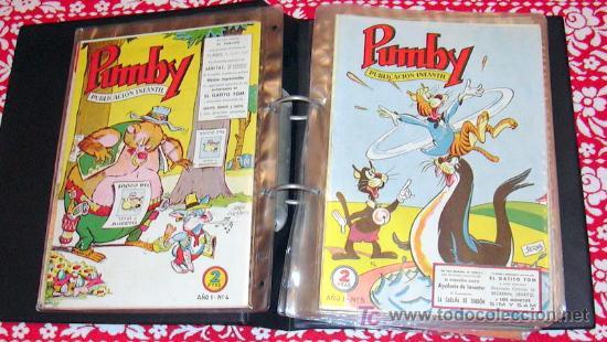 Tebeos: PUMBY - Coleccion completa, 1204 tebeos - Ver fotos interiores - Editorial Valenciana 1955 - Foto 3 - 26556419