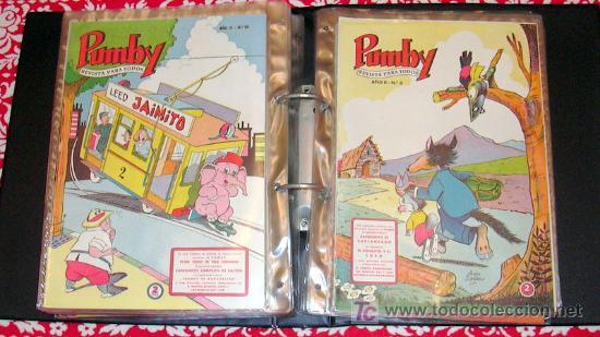 Tebeos: PUMBY - Coleccion completa, 1204 tebeos - Ver fotos interiores - Editorial Valenciana 1955 - Foto 6 - 26556419