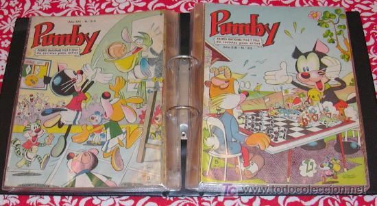 Tebeos: PUMBY - Coleccion completa, 1204 tebeos - Ver fotos interiores - Editorial Valenciana 1955 - Foto 8 - 26556419