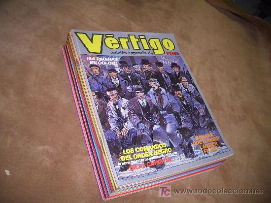 VERTIGO -COMPLETA (Tebeos y Comics - Tebeos Colecciones y Lotes Avanzados)
