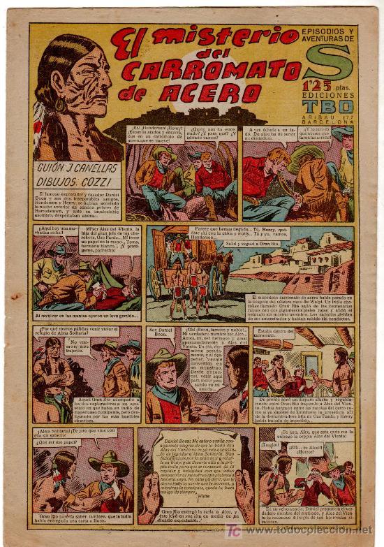 Tebeos: S EL MISTERIO DEL CARROMATO DE ACERO - NO ESTA EN VENTA - Foto 26 - 22574207