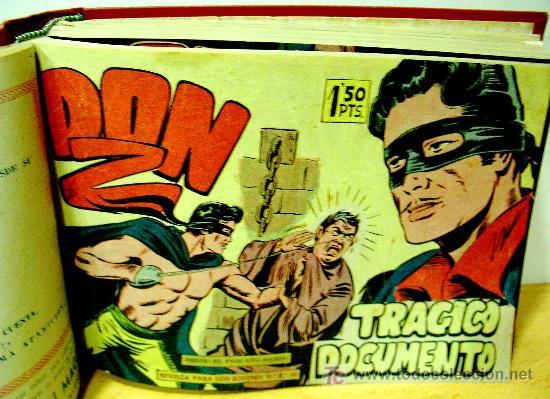 DON Z (MAGA) 90 EJ. (ENCUADERNADA) (COMPLETA) (Tebeos y Comics - Tebeos Colecciones y Lotes Avanzados)