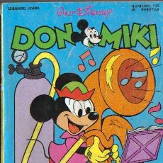 Tebeos: DON MIKI. Nº145. Lote 26990216