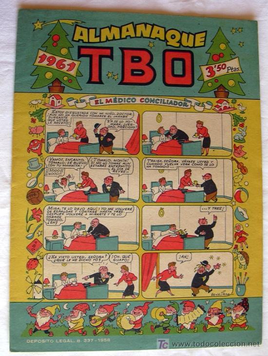 Tebeos: TBO - Almanaques y Extras - 246 ejemplares - Ver RELACION y FOTOS interiores - Foto 5 - 27160563