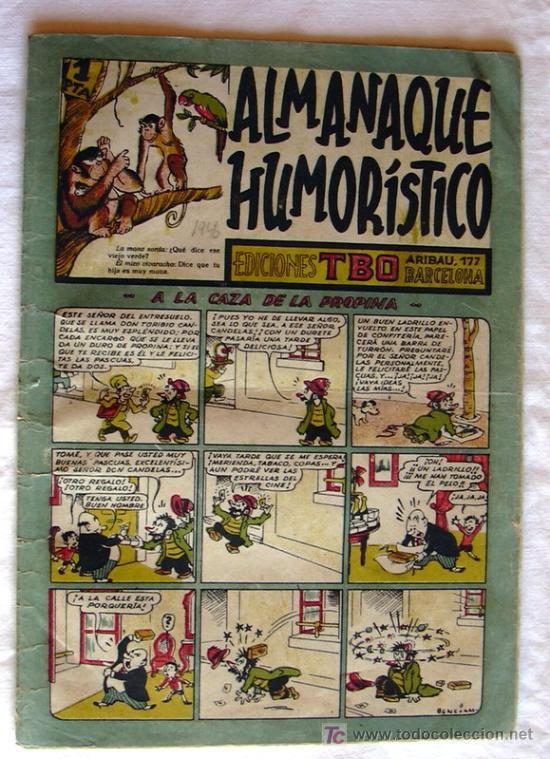 Tebeos: TBO - Almanaques y Extras - 246 ejemplares - Ver RELACION y FOTOS interiores - Foto 7 - 27160563