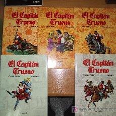 Tebeos: EL CAPITAN TRUENO / EDICION DE LUJO / OBRA COMPLETA 5 TOMOS / VICTOR MORA, AMBROS Y FUENTES MAN. Lote 26997383