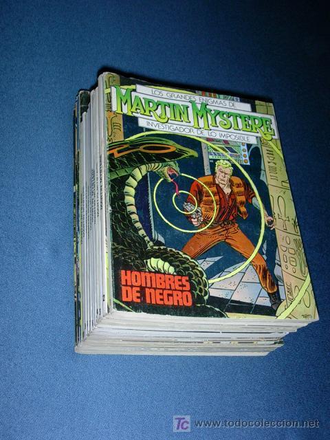MARTIN MYSTERE -- ¡¡¡ COLECCION COMPLETA !!! - EDITORIAL ZINCO (Tebeos y Comics - Tebeos Colecciones y Lotes Avanzados)