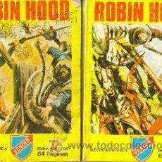 Tebeos: ROBIN HOOD ( PRODUCCIONES EDITORIALES S.A.) ORIGINALES 1981 LOTE. Lote 27504157