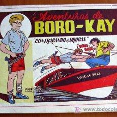 Tebeos: BORO - KAY - COMPLETA - PUBLICADA POR CARSOTO EN 1956.. Lote 27226325