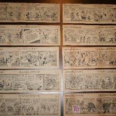 Tebeos: LOTE TIRAS ORIGINALES DE PERIÓDICO LA VANGUARDIA1934 DEL RATÓN MIGUELIN (MICKEY MOUSE). Lote 27137412