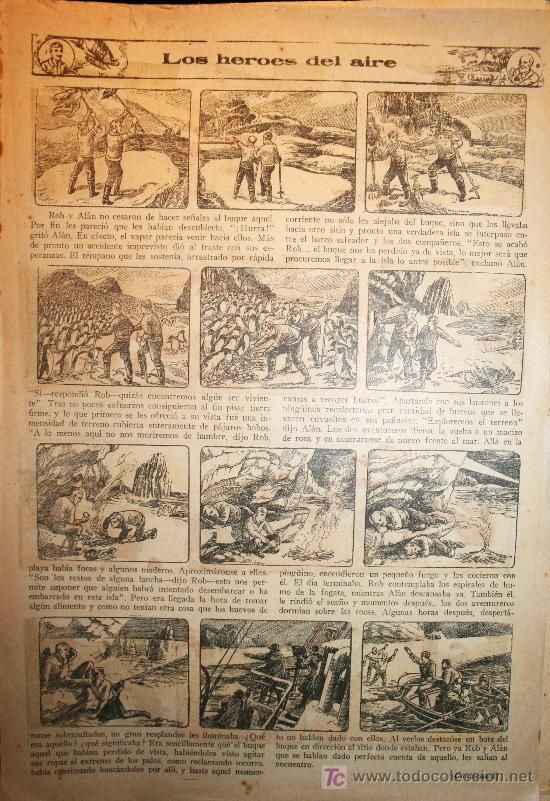Tebeos: 388 CAPITULOS DE LOS HEROES DEL AIRE - DÉCADA DE1930 - Foto 5 - 27137411