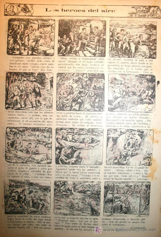 Tebeos: 388 CAPITULOS DE LOS HEROES DEL AIRE - DÉCADA DE1930 - Foto 4 - 27137411