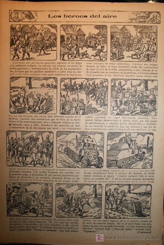 Tebeos: 388 CAPITULOS DE LOS HEROES DEL AIRE - DÉCADA DE1930 - Foto 2 - 27137411