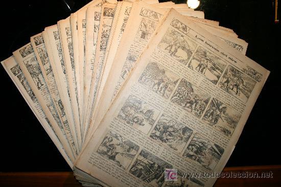 388 CAPITULOS DE LOS HEROES DEL AIRE - DÉCADA DE1930 (Tebeos y Comics - Tebeos Colecciones y Lotes Avanzados)