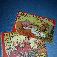 Tebeos: BENGALA 2ª SERIE - LOTE DE 17 TEBEOS ORIGINALES. Lote 25492286