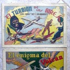 Tebeos: DANI EL AVIADOR - 8 EJEMPLARES - VER EXPLICACIÓN Y FOTOS INTERIORES, HISPANO AMERICANA 1943. Lote 27205847