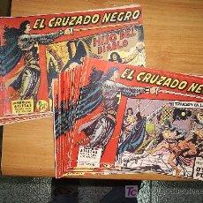 Tebeos: EL CRUZADO NEGRO ¡ COMPLETA ORIGINAL 56 NUMEROS !. Lote 9037266