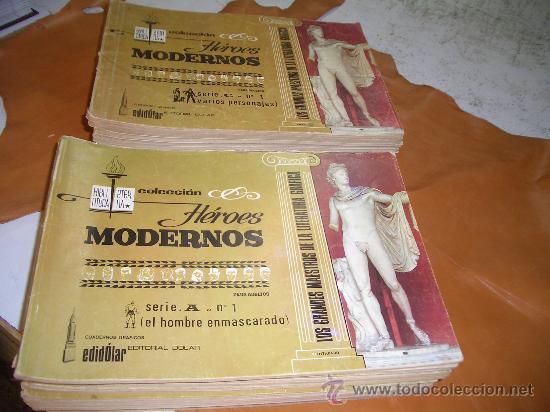 COLECCION HEROES MODERNOS EL HOMBRE ENMASCARADO (Tebeos y Comics - Tebeos Colecciones y Lotes Avanzados)