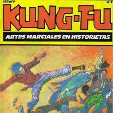 Tebeos: KUNG FU EL CUERVO (IRU) ORIGINAL 1987 LOTE. Lote 27120030