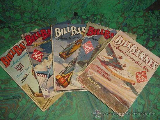 BILL BARNES - COLECCION HOMBRES AUDACES - (MOLINO) (Tebeos y Comics - Tebeos Colecciones y Lotes Avanzados)