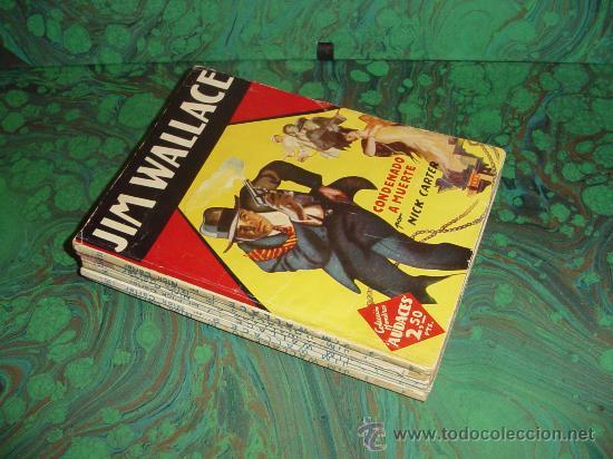 JIM WALLACE - COLECCION HOMBRES AUDACES - (MOLINO) (Tebeos y Comics - Tebeos Colecciones y Lotes Avanzados)