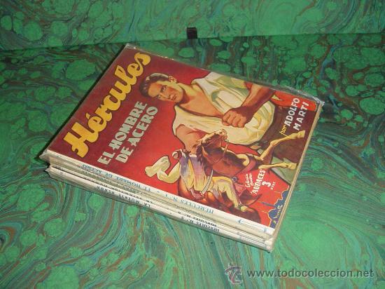 HERCULES - COLECCION HOMBRES AUDACES - (MOLINO) (Tebeos y Comics - Tebeos Colecciones y Lotes Avanzados)