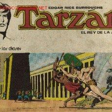 Tebeos: TARZAN EL REY DE LA JUNGLA ( NOVARO ) ORIGINAL 1976-1977 LOTE. Lote 26894469