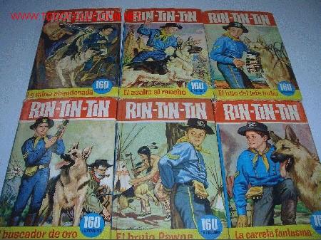 COLECCION HEROES RIN TIN TIN (Tebeos y Comics - Tebeos Colecciones y Lotes Avanzados)