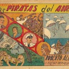 Tebeos: ROBERTO ALCÁZAR Y PEDRIN - COMPLETA - 1219 EJEMPLARES - EDITORIAL VALENCIANA 1940. Lote 26945689