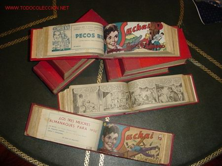 SUCHAI (H. AMERICANA). ¡¡ PRECIOSA !! (Tebeos y Comics - Tebeos Colecciones y Lotes Avanzados)