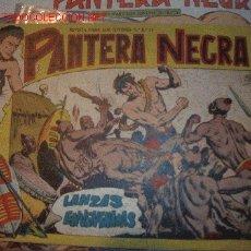 Tebeos: PANTERA NEGRA ( MAGA ) ORIGINALES 1956 LOTE. Lote 26319301