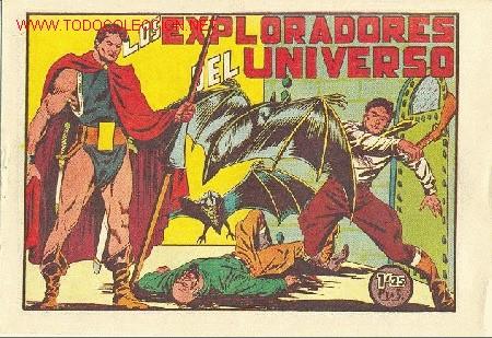 LOS EXPLORADORES DEL UNIVERSO - COMPLETA 18 TEBEOS, NUEVA SIN ABRIR - EDITORIAL VALENCIANA 1951 (Tebeos y Comics - Tebeos Colecciones y Lotes Avanzados)