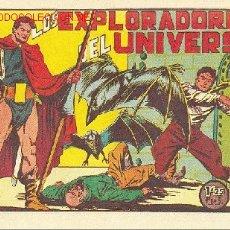 Tebeos: LOS EXPLORADORES DEL UNIVERSO - COMPLETA 18 TEBEOS, NUEVA SIN ABRIR - EDITORIAL VALENCIANA 1951. Lote 27410050