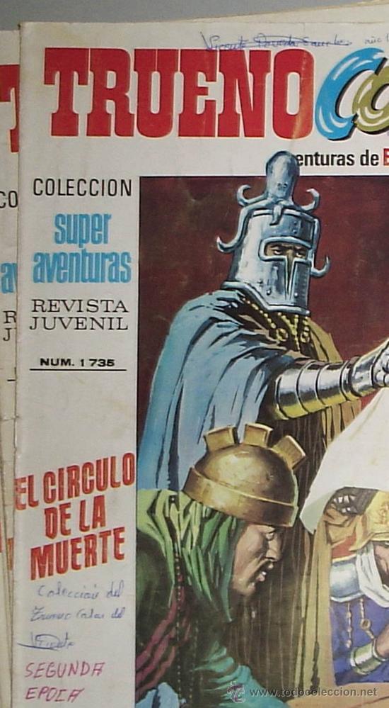 Tebeos: TRUENO COLOR , SEGUNDA EPOCA ¡ LOTE 20 PRIMEROS NUMEROS - Foto 2 - 18579487